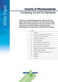 An toàn dược phẩm – So sánh các tiêu chuẩn của Hoa Kỳ và EU
